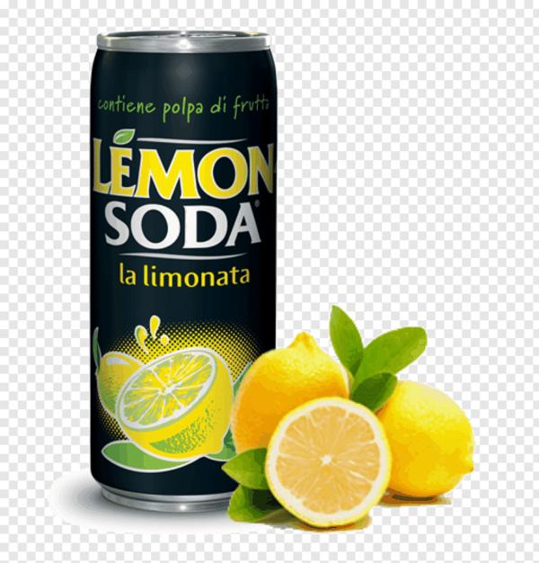 Napòj Lemonsoda czarna Puszka 330ml