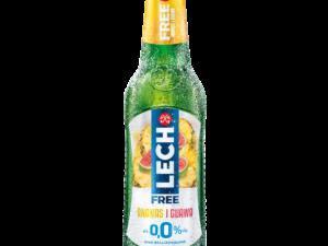 butelka piwa lech free