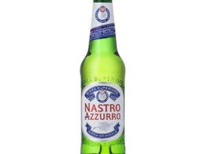 butelka piwa nastro azzurro