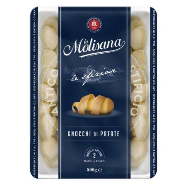 na białym talerzu kluseczki gnocchi la molisana, 500g