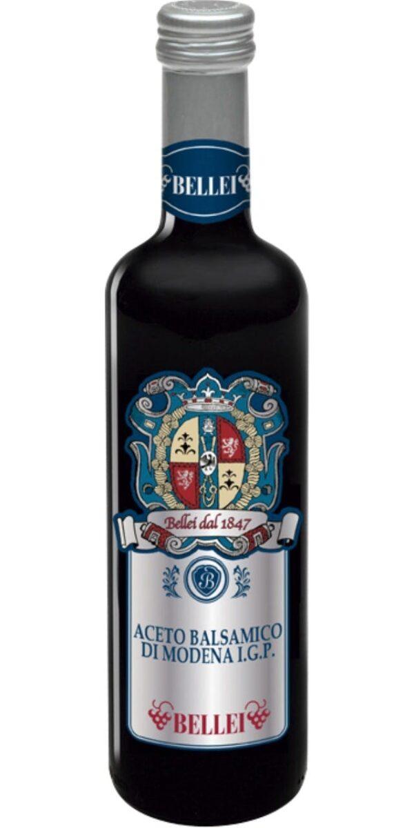 Na białym tle buletka Ocetu balsamicznego ACETO BALSAMICO DI MODENA IGP – BELLEI 500ML