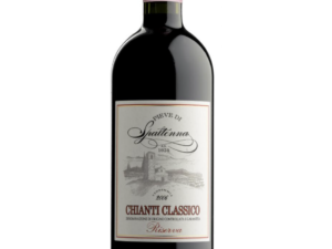 butelka wina czerwonego Chianti Classico DOCG
