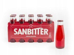 Na białym tle Aperitif bezalkoholowy, SANBITTER 100ML