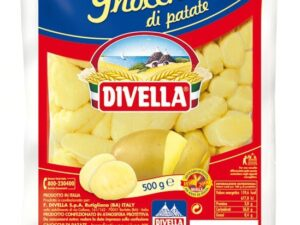 na białym tle Divella Gnocchi, 500g
