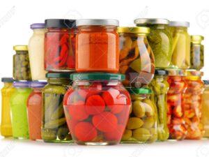 Produkty w słoikach lub puszka